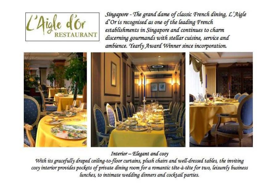 The peranakan restaurant Singapore